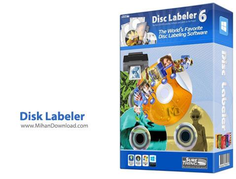 Disk Labeler دانلود نرم افزار ساخت لیبل سی دی و دی وی دی SureThing Disk Labeler Deluxe Gold 6.2.134.0