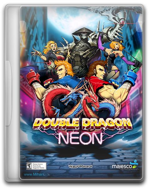 Double Dragon Neon 1 دانلود بازی Double Dragon Neon