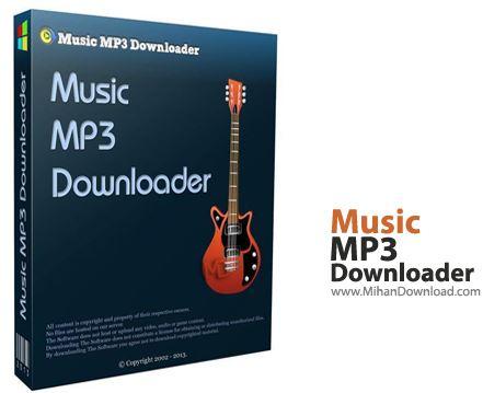 Downloader نرم افزار جستجوی فایل های mp3 در اینترنت Music MP3 Downloader v5 5 8 6