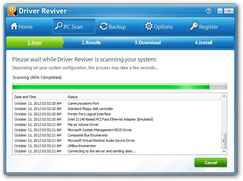 Driver Reviver 2 دانلود  Driver Reviver 4 0 1 76 نرم افزار اسکن و بروز رسانی درایورهای ویندوز