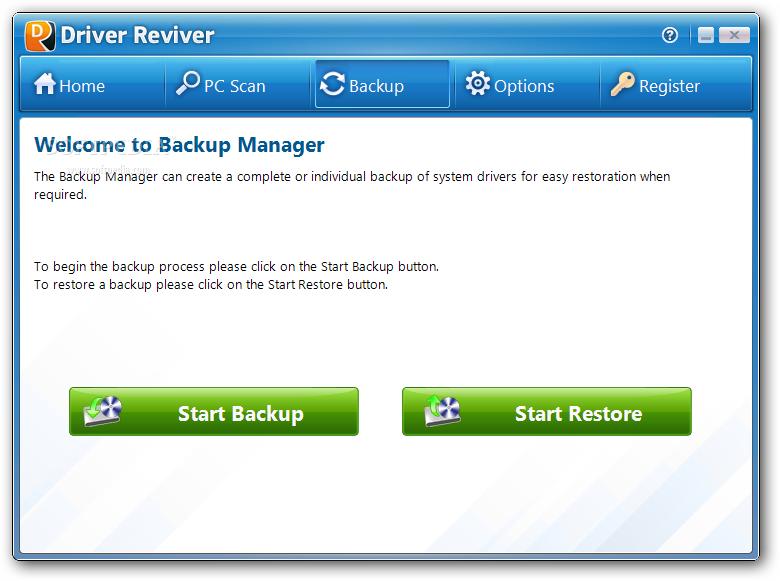 Driver Reviver 3 دانلود  Driver Reviver 4 0 1 76 نرم افزار اسکن و بروز رسانی درایورهای ویندوز