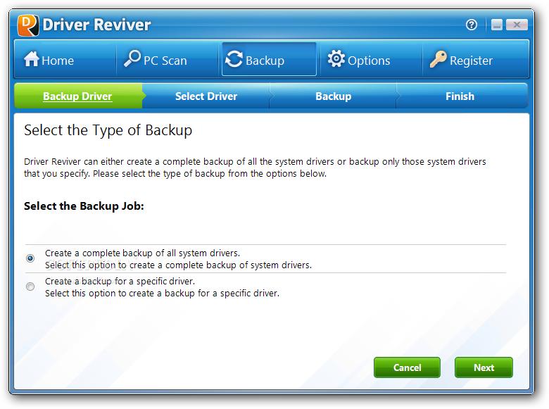 Driver Reviver 4 دانلود  Driver Reviver 4 0 1 76 نرم افزار اسکن و بروز رسانی درایورهای ویندوز