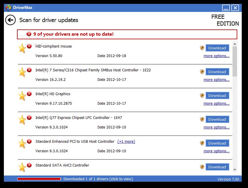 DriverMax 3 دانلود نرم افزار مديريت و آپديت درايورها DriverMax 7 27