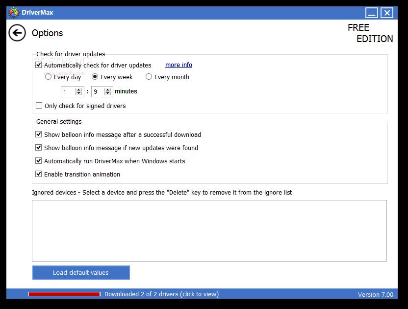 DriverMax 9 دانلود نرم افزار مديريت و آپديت درايورها DriverMax 7 27