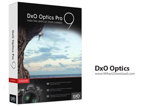 DxO Optics نرم افزار افزایش کیفیت تصاویر DxO Optics Pro 9 1 2 Build 1661 Elite