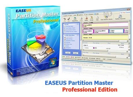 EASEUS دانلود نرم افزار پارتیشن بندی هارد دیسک EASEUS Partition Master 10.8 Professional
