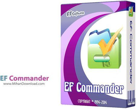 EF Commander مدیریت فایل ها در ویندوز EF Commander 9 80