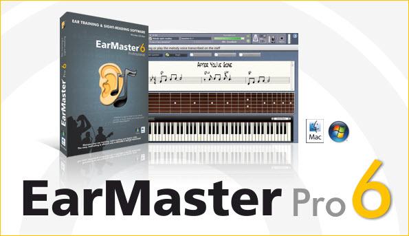 EarMa دانلود EarMaster Pro 6.2 Build 654PW نرم افزار آموزش از طریق شنوایی