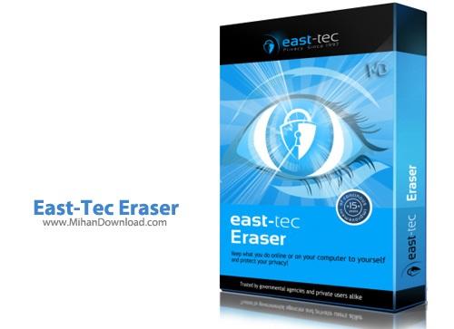 East Tec Eraser1 نرم افزار پاکسازی کامل ردپا East Tec Eraser 2014 11 0 7 100