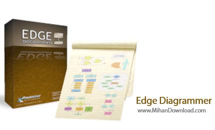 Edge Diagrammer دانلود Edge Diagrammer نرم افزار طراحی و چاپ انواع نمودار و فلوچارت