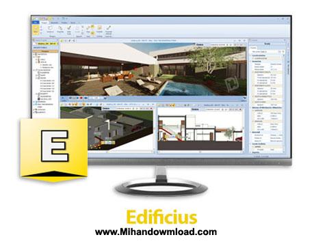Edificius دانلود نرم افزار طراحی پروژه های معماری Edificius v9.00d