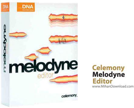 Editor حذف نت های اضافه از موسیقی Celemony Melodyne Editor 2 1 2 2