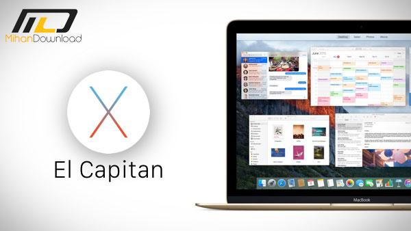 El Capitan main1 دانلود سیستم عامل ال کاپیتان Mac OS X El Capitan v10.11.5