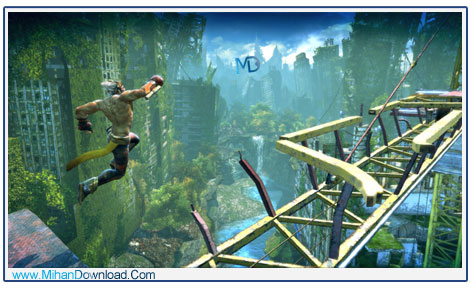 Enslaved Odyssey to the West 2 دانلود بازی Enslaved Odyssey to the West جنگ برای بقا
