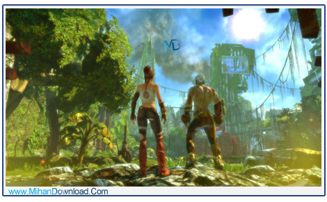 Enslaved Odyssey to the West 4 دانلود بازی Enslaved Odyssey to the West جنگ برای بقا