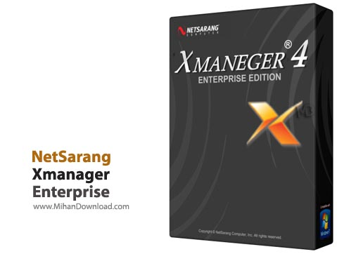 Enterprise1 نرم افزار کنترل سیستم های سرور از راه دور NetSarang Xmanager Enterprise 4 Build 0230
