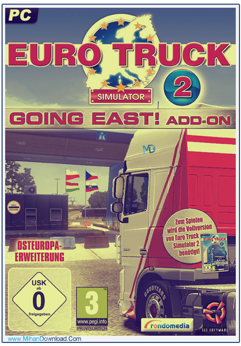 Euro Truck Simulator 2 Going East 1 دانلود بازی Euro Truck Simulator 2 Going East شبیه ساز کامیون ها