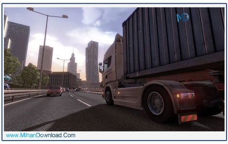 Euro Truck Simulator 2 Going East 4 دانلود بازی Euro Truck Simulator 2 Going East شبیه ساز کامیون ها