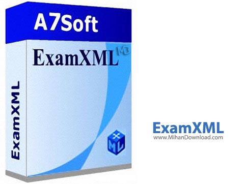 ExamXML PRO نرم افزار مقایسه فایل های ايکس ام ال ExamXML PRO 5 49 1077