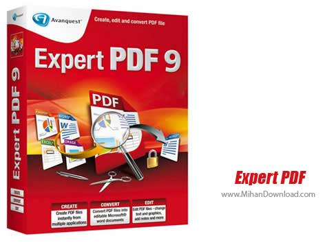 Expert PDF دانلود Avanquest Expert PDF نرم افزار ایجاد ، تبدیل و ویرایش اسناد PDF