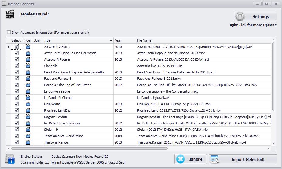 Extreme.Movie 1 نرم افزار مدیریت آرشیو فیلم ها Extreme Movie Manager 8 2 1 0