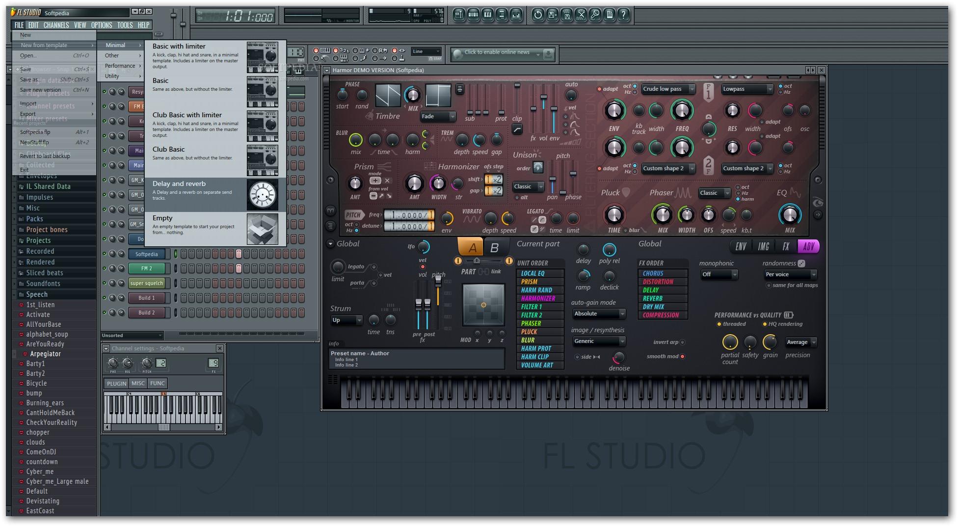 FL Studio 4 دانلود FL Studio Producer Edition 11 0 4 Final نرم افزار آهنگسازی