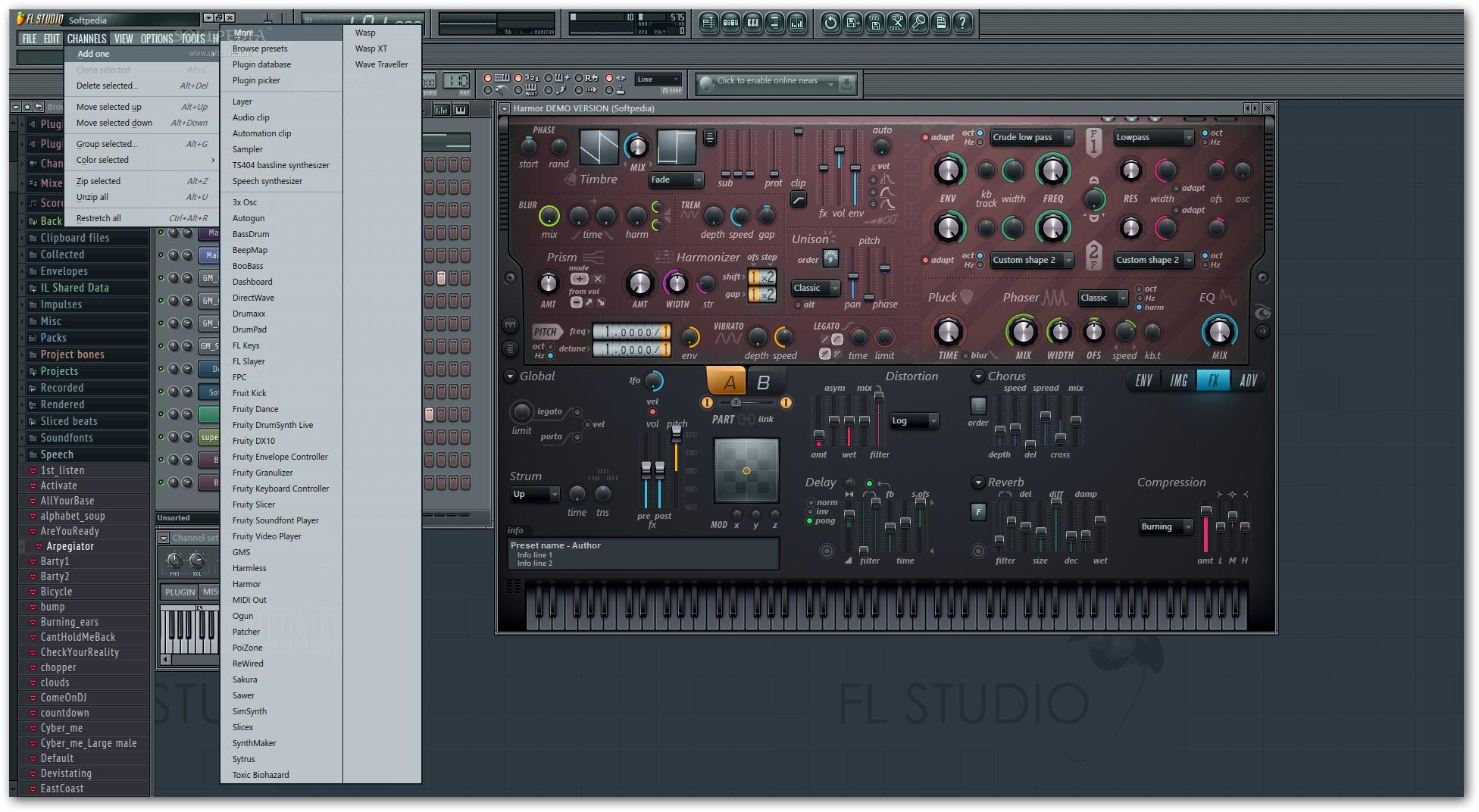 FL Studio 6 دانلود FL Studio Producer Edition 11 0 4 Final نرم افزار آهنگسازی