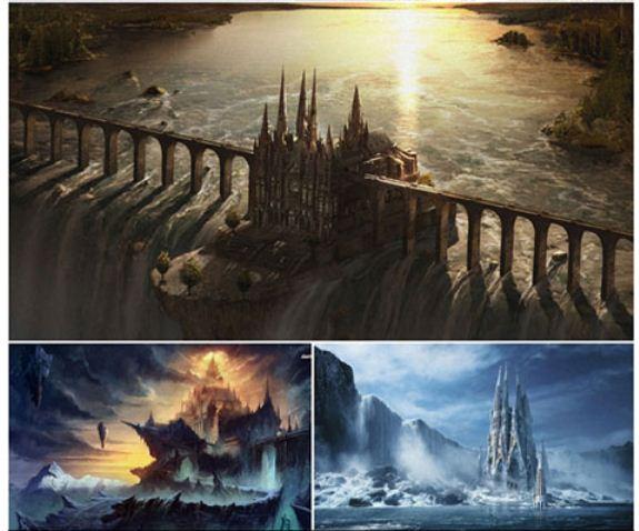 Fantasy Castle دانلود والپیپرهای فانتزی