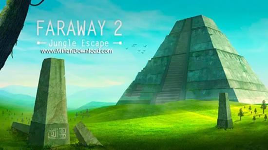 Faraway 2  دانلود Faraway 2: Jungle Escape 1.0.23 بازی فکری دور افتاده برای آندروید