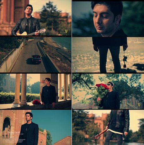 Farzad Farzin Music Video Man Be Jahannam دانلود موزیک ویدیو جدید فرزاد فرزین به نام من به جهنم