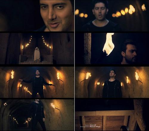 Farzad Farzin Music Video Parvaz دانلود موزیک ویدیو جدید فرزاد فرزین به نام پرواز