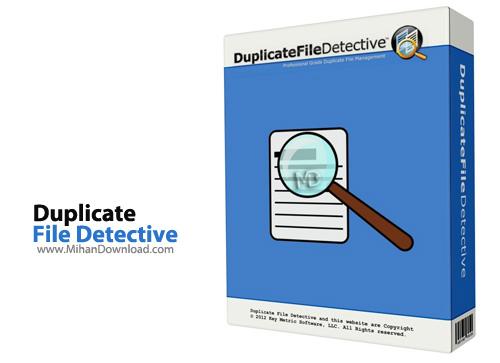 File Detective نرم افزار حذف فایل های تکراری Duplicate File Detective 5 0 74