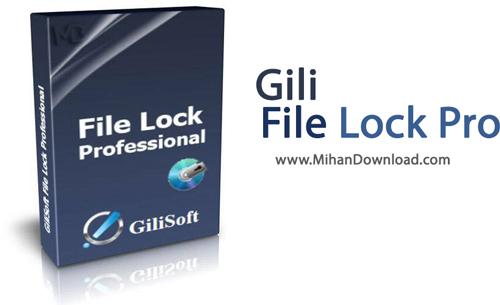 File Lock Pro2 دانلود نرم افزار رمزگذاری فایل  Gili File Lock Pro 8 1 1
