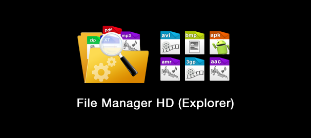 File Manager HD Explorer 607x269 دانلود نرم افزار مدیریت فایل ها File Manager HD (Explorer) 3.4.3 اندروید