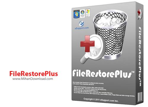 FileRestorePlus نرم افزار بازیابی فایل های حذف شده FileRestorePlus 3 0 5 Build 225