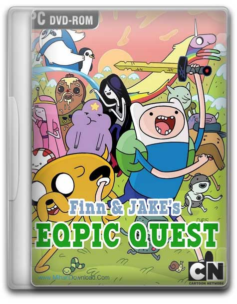 Finn and Jakes Epic Quest 1 دانلود بازی تلاش حماسی Finn and Jakes Epic Quest