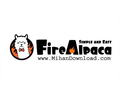 FireAlpaca دانلود نرم افزار ویرایش تصویر FireAlpaca 1.8.5