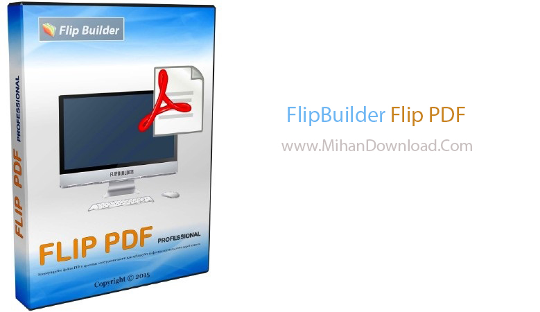 FlipBuilder Flip PDF دانلود نرم افزار کار با پی دی اف FlipBuilder Flip PDF 4.4.3.2