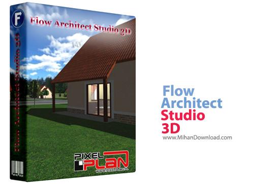 Flow Architect Studio 3D2 نرم افزار طراحی سه بعدی پلان های معماری Flow Architect Studio 3D 1 8 4