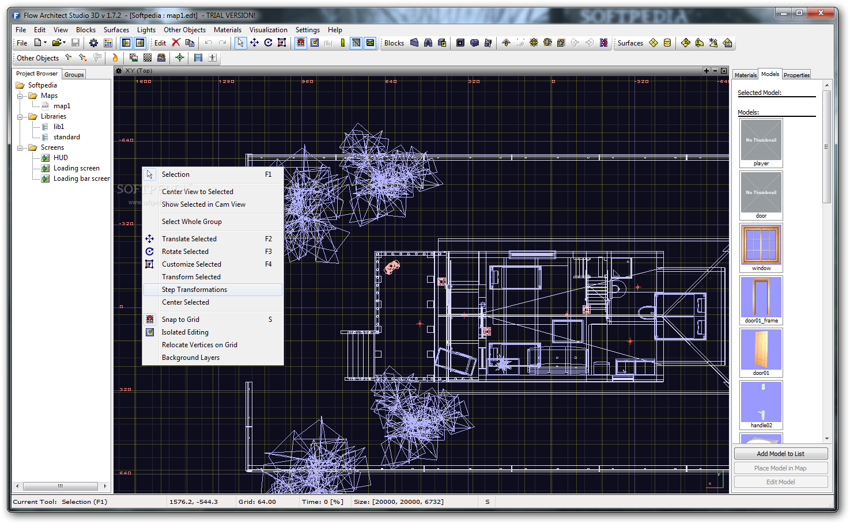 Flow Architect Studio 3D 3 نرم افزار طراحی سه بعدی پلان های معماری Flow Architect Studio 3D 1 8 4