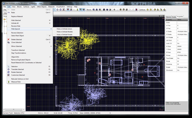 Flow Architect Studio 3D 4 نرم افزار طراحی سه بعدی پلان های معماری Flow Architect Studio 3D 1 8 4
