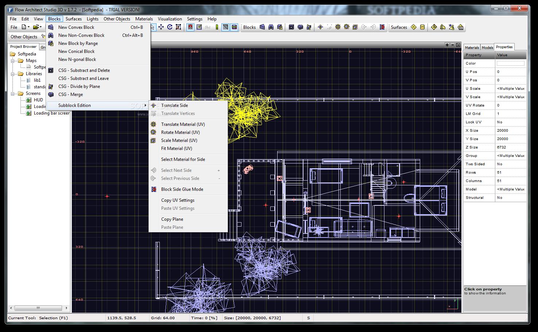 Flow Architect Studio 3D 6 نرم افزار طراحی سه بعدی پلان های معماری Flow Architect Studio 3D 1 8 4