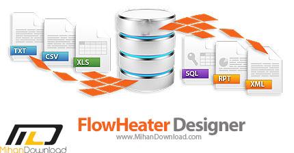 FlowHeater Designer icon دانلود FlowHeater Designer نرم افزار اتصال دیتابیس ها به همدیگر