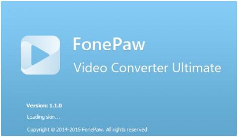 FonePaw e1425368509279 دانلود نرم افزار تبدیل فرمت FonePaw Video Converter Ultimate 1.3.0