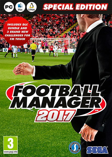 Football.Manager.2017.v17.1.1.3DM 1 دانلود بازی ورزشی شبیه ساز FOOTBALL MANAGER 2017 برای کامپیوتر