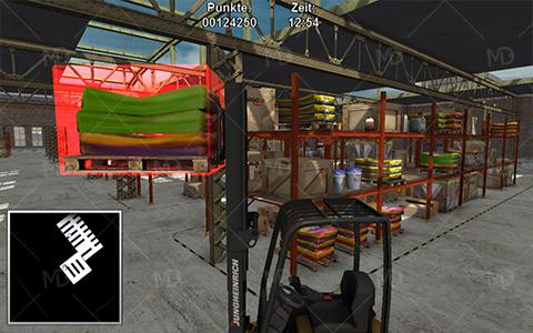 Forklifter 2014 3 دانلود بازی شبیه ساز لیفتراک Forklifter 2014