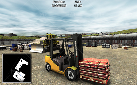 Forklifter 2014 4 دانلود بازی شبیه ساز لیفتراک Forklifter 2014