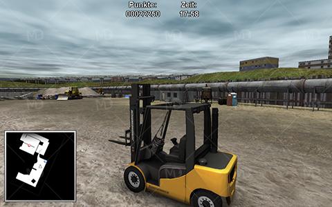 Forklifter 2014 5 دانلود بازی شبیه ساز لیفتراک Forklifter 2014