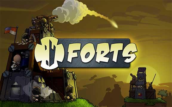 Forts.cover 8 دانلود Forts بازی قلعه برای کامپیوتر