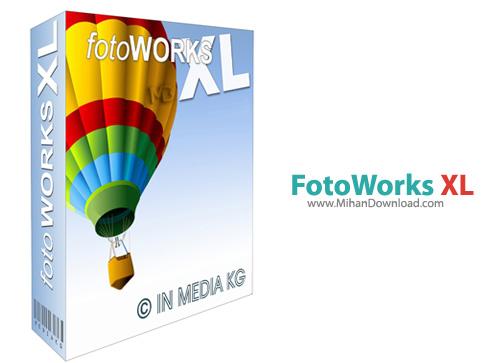 FotoWorks XL نرم افزار ویرایش عکس FotoWorks XL 2014 14 0 1